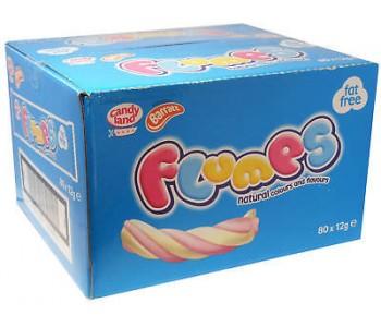Flumps Marshmallow Twists - 50 x 20g  Pack