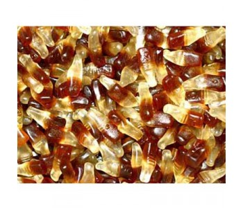 Clear Mini Cola Bottles - 800 Pack