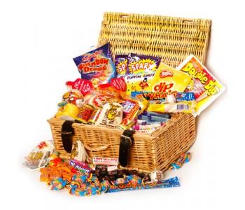 Retro Sweets Assortment Gift Hamper - Medium
