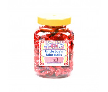 A Jar of Uncle Joe's Mint Balls - 0.8Kg Jar