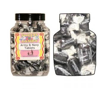 A Jar of Army Navy Sweets - 1.5Kg Jar
