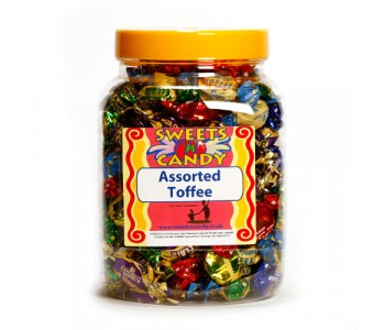 A Jar of Walkers Assorted Olde English Toffees - 1.2Kg Jar