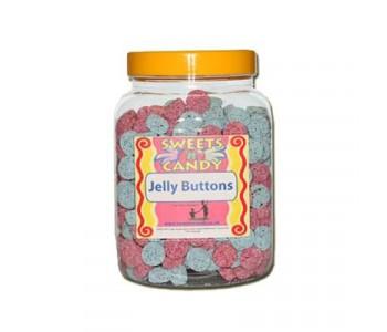 A Jar of Jelly Buttons (Spogs) - 1.5 Kg Jar