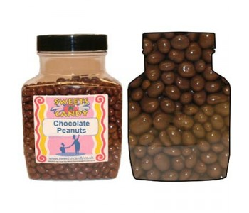 A Jar of Chocolate Coated Peanuts - 1.8 Kg Jar