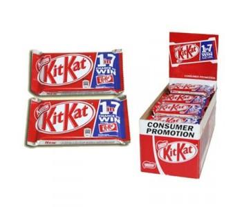 Kit Kat Chocolate Bars - 48 x 45g Pack
