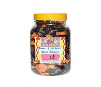 Barratts Blackjack and Fruit Salad Mix in a Jar - 1.5Kg Jar