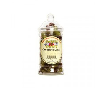 Traditional Chocolate Limes - 250g Victorian Jar