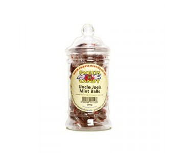 Uncle Joe's Mint Ball - 200g Victorian Jar