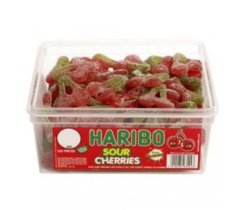 Haribo Sour Cherries - 120 Pack