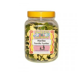 A Jar of Haribo Terrific Turtles - 1.5 Kg Jar