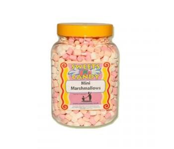 A Jar of Mini Marshmallows - 0.5Kg Jar