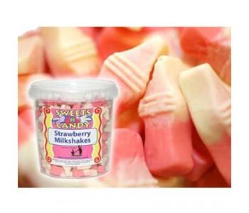 Strawberry Milkshake Flavour Jellies - 750g Tub
