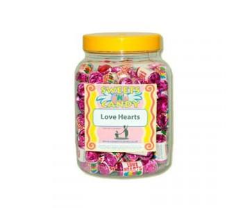 A Jar of Swizzels Lovehearts - 1.5Kg Jar