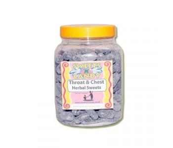 A Jar of Herbal Throat & Chest Lozenges - 1.8Kg Jar