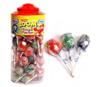 Mega Tongue Painter Lollipops - 50 Pack