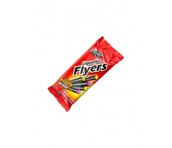 Liquorice Flyers With Crystal Centre 12 x 95gm pack