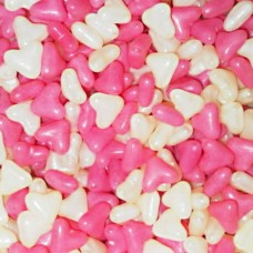 Barratt Pink and White Hearts - 3Kg Bulk Pack
