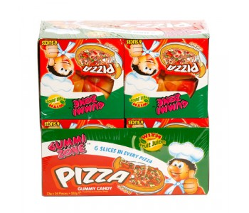 Jelly Pizza with Added Fruit Juice - 24 Pack