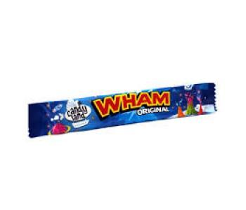 Candyland (Wham)Original Raspberry Flavour Chew Bar - 60 Pack